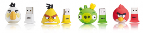 EMTEC d�voile ses cl�s USB Angry Birds