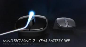 HP: 24 � 29 mois d�autonomie pour les souris X4000 et X5000
