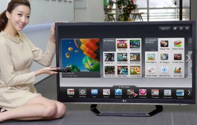 CES2012: LG avec son nouvel ensemble de Smart TV