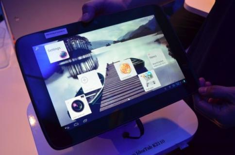 Lenovo: apr�s le Smartphone, voici la tablette