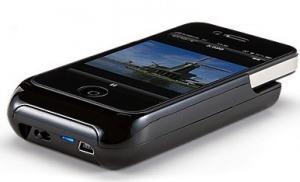 Sanwa 400-PRJ011: pico projecteur 2 en 1 pour iPhone