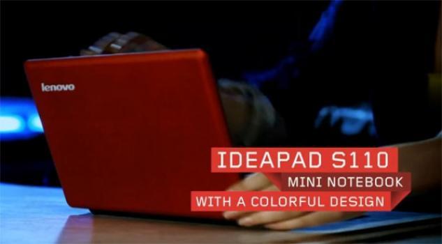 CES 2012: Lenovo Ideapad S110