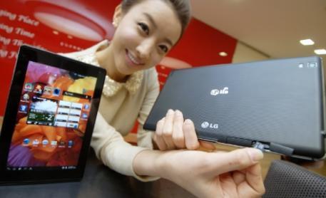 LG pr�sente sa tablette Optimus Pad LTE