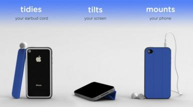 TidyTilt: une Smart Cover pour iPhone