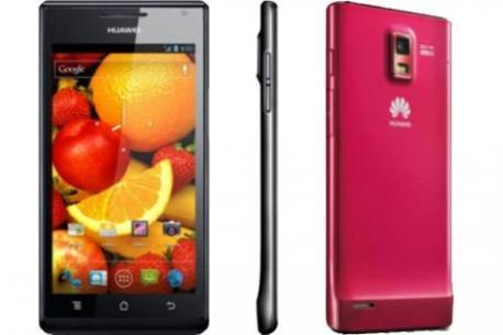 CES2012: Huawei présente son smartphone Ascend P1 S de 6.68mm d'épaisseur