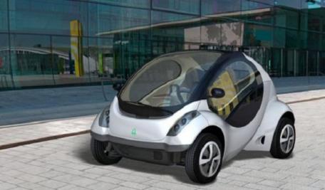 Hiriko: voiture �lectrique pliable pour ville sans CO2