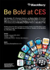 CES2012: BlackBerry Playbook en 2.0