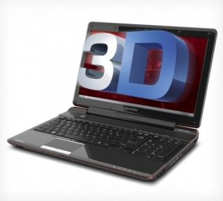 Toshiba Qosmio F755 version 3D