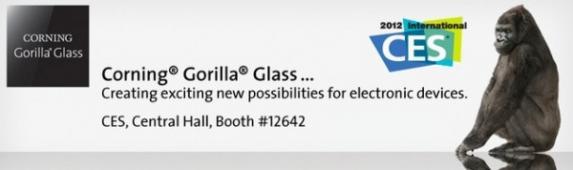 CES2012: la Gorilla Glass 2 pr�sent�e