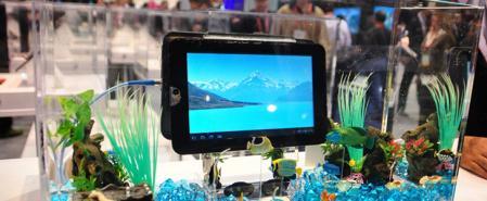 Toshiba: tablette avec Android se rechargeant sans fil