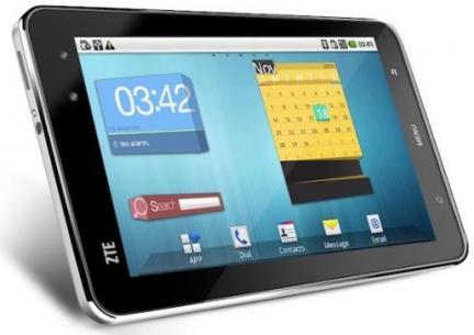 CES2012: tablette Tegra 3 avec ZTE