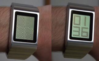 Montre Tokyoflash Kisai : afficher l'heure via une illusion optique