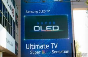 Samsung: écran OLED de 55″