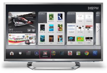CES2012: LG pr�sente sa Google TV