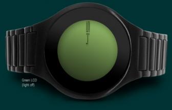 Montre Tokyoflash Kasai on Air: LCD tactile et affichage basique