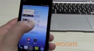 Smartphone Xiaomi avec Ice Cream Sandwich