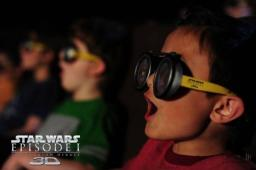 Star Wars en 3D: lunettes Pod Racer gratuites