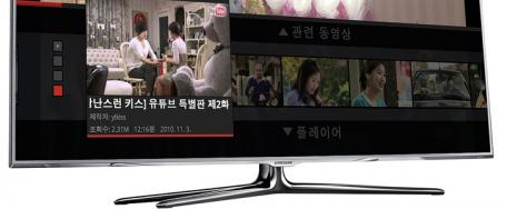 Samsung: les Smart TV Now Rides disponibles avec Youtube