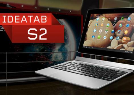 CES 2012: Lenovo IdeaTab S2 avec dock/clavier