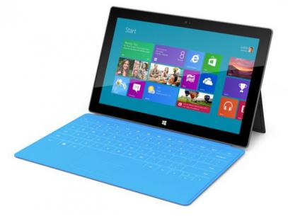 Microsoft Surface: tablette windows 8