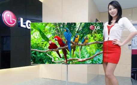 CES2012: TV OLED LG