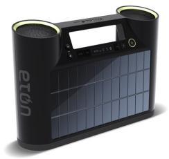 CES 2012: Rukus Solar: enceintes Bluetooth solaire