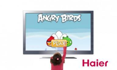 CES2012: pens�e, mouvements et le toucher avec les TV de Haier