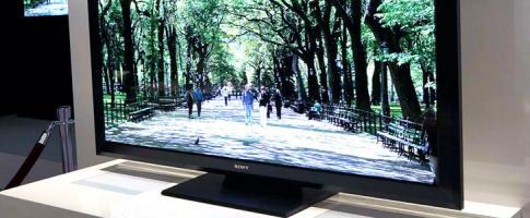CES2012: Sony pr�sente un t�l�viseur OLED de 55 �