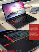 Fujitsu Lifebook: concept de Notebook 4 en 1