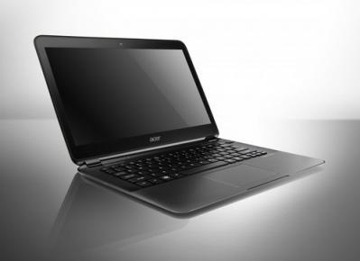 CES 2012: Acer avec son ultrabook Aspire S5