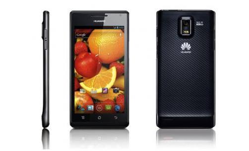 CES2012: Huawei Ascend P1 S