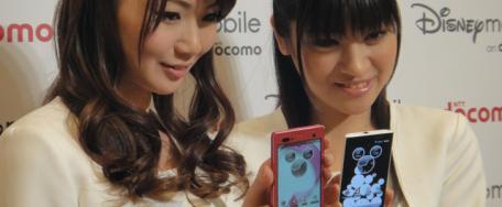 Pays du Soleil Levant: Disney et DoCoMo avec des smartphones Android