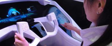 La technologie d�interface pour voiture: Mitsubishi EMIRAI