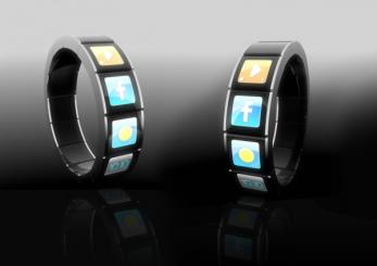 Montre tactile pour contr�ler vos applications mobiles
