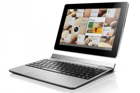 CES 2012: Lenovo avec sa tablette IdeaTab S2 avec dock/clavier