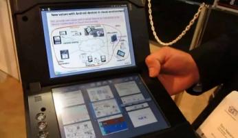 CES 2011: tablette bi-�cran de NEC