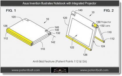 Asus: des Notebooks avec vid�oprojecteurs ?