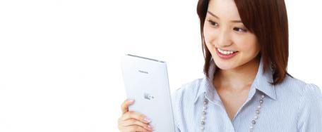 Toshiba: e-Book avec Android avec le DB50 au Pays du Soleil Levant