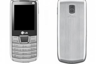 LG A290: téléphone avec 3 fois SIM