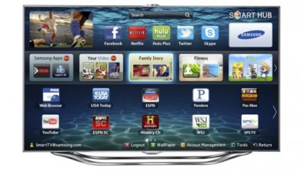 CES 2012: Samsung lance ses TV ES8000 LED TV
