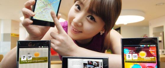 MWG, LG: l�Optimus VU, le smartphone 5″, de 8.5 mm avec le LTE