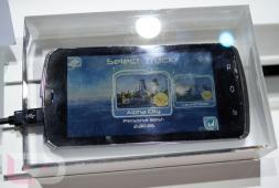 CES2012: Fujitsu avec aper�u du smartphone quad-core