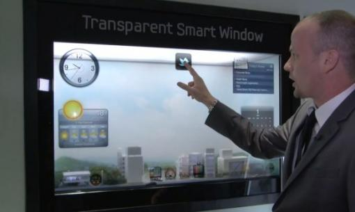 CES2012: Le Samsung Transparent Smart Windows