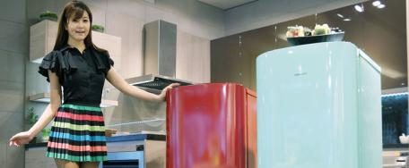Samsung: mini-r�frig�rateur styl� et pratique au Pays du Matin Calme