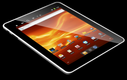 CES 2012: tablette tactile sous Android 4.0 de Cruz