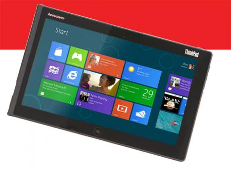 lenovo thinkpad tablet 2 sous windows 8 avec clavier