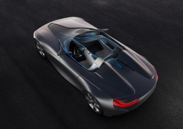 BMW: tissu tactile