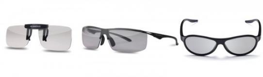 CES 2012: lunettes 3D polarisées de LG
