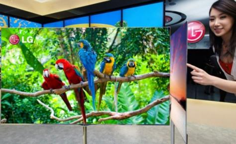 CES 2012: la TV OLED 55&#8243; de l'entreprise LG