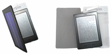 Amazon Kindle: un étui solaire
